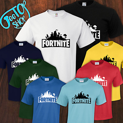 New Fortnite Battle Royale Logo Adults - Kids Gaming T-shirt 8 Colors XBOX PS4