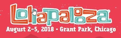 Lollapalooza Friday 832018 Bruno Mars National Post Malone Chicago Tickets