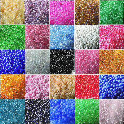 20004000 Pcs 2mm Czech Glass Seed Spacer Beads Jewelry Making DIY Finding Craft