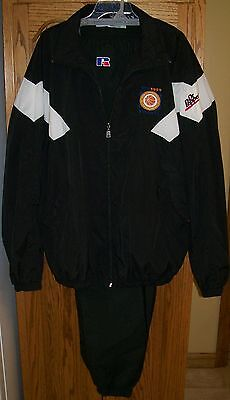 Dr Pepper 1999 SEC Basketball Tournament Lined Windsuit XXL by Russell Athletic