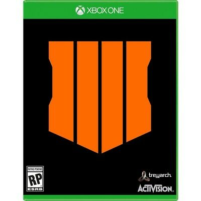 Call of Duty Black Ops 4 Microsoft Xbox One New Sealed Game Pre-Order