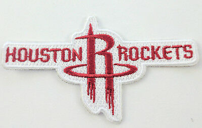 Houston Rockets Logo Iron On Patch 3 12 x 2 Free Shipping by Envelope Mail