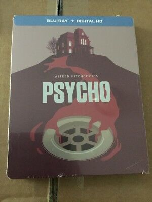 Psycho Steelbook Blu-ray Disc 2014 Limited Edition FACTORY SEALED