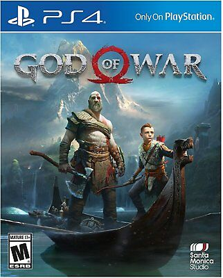 God of War  Sony PlayStation 4 2018 Brand New