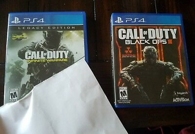 Pre Owned PS4 Call Of Duty Black Ops 3 - Infinity Warfare used games