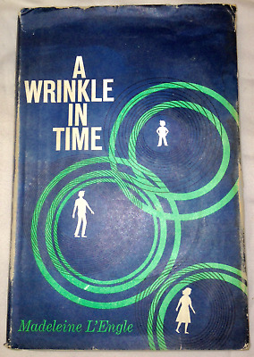 Madeleine LEngle A WRINKLE IN TIME Book Club Junior Deluxe Ed- 1962 Hardback