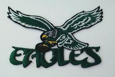 Philadelphia Eagles 1987 NFL Football Logo 4 Embroidered Iron Or Sew On Patch