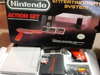 Original Nintendo Entertainment System Action Set NES complete in box Near Mint