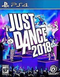 PS4 Just Dance 2018 NEW Sealed REGION FREE USA plays all PS4 consoles