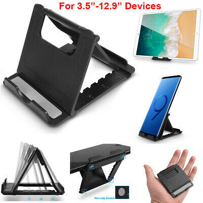 360 Universal Foldable Cell Phone Tablet Dock Stand Mount Holder For iPhone iPad