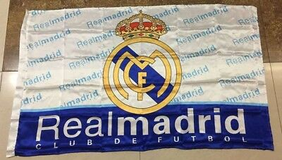 Real Madrid Flag 3x5 ft Spain Soccer Bandera MOST CHAMPIONS WINNERS RONALDO