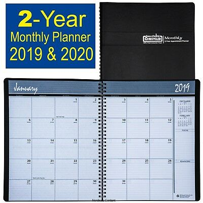 2019 - 2020 HOD262002 House of Doolittle 2-Year Monthly Appt Planner 8-12 x11