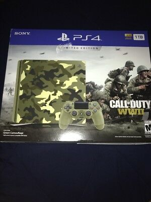 PlayStation 4 1TB Limited Edition COD WWII Console