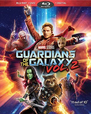 Guardians of the Galaxy Vol- 2 Blu-ray - DVD - Digital  NEW FAST SHIP