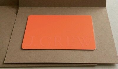 J-Crew Gift Card 500 NO RESERVE