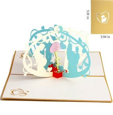 3D Pop Up Card Mother Love Mom Gift New Hot Mothers Day Greeting Cards