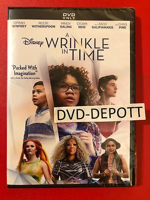 A Wrinkle In Time DVD AUTHENTIC With Disney Rewards Points Insert READ NEW