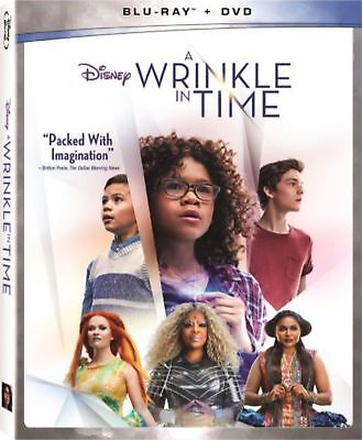 A Wrinkle in Time Blu-Ray - DVD 2018 w SLIP COVER FREE SHIPPING