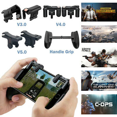 PUBG Fortnite Shooter Controller Trigger Fire Button Mobile Phone Game Handle US