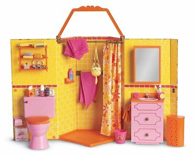 American Girl Julie's Groovy Bathroom- New 100
