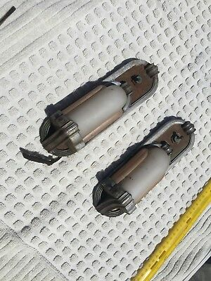 Pair Of Vintage Art Deco Wall Sconce automobile Interior Lights-