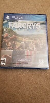 FAR CRY 5 FARCRY 5 Sony Playstation 4 PS4 Game BRAND NEW FACTORY SEALED