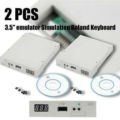 2X 3-5144MB Upgrade Floppy Drive to USB Flash Disk Drive Emulator-CD Screws