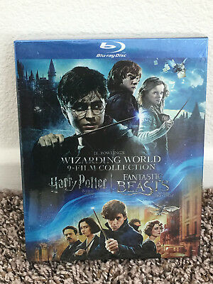 J-K- Rowlings Wizarding World 9 Film Collection Harry Potter Fantastic Blu-ray