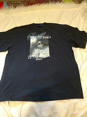Vintage Biggie Smalls is the Illest Bad Boy Athletics 1993 t-shirt size XL