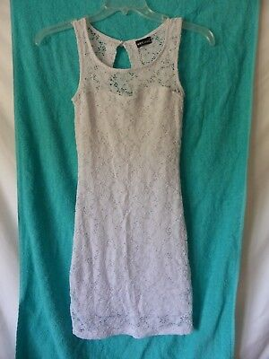 Wet Seal Lace Dress Junior Size small