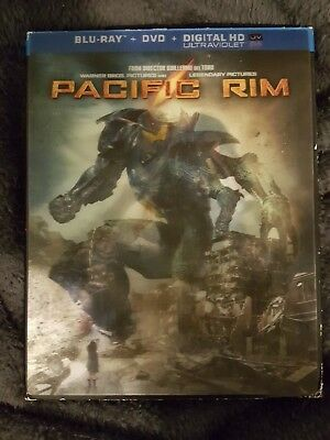Pacific Rim 2-Disc Set Blu-Ray and DVD
