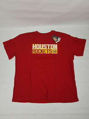 Houston Rockets 34 Hakeem Olajuwon Majestic Size 3 X Large Red Shirt