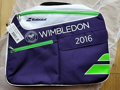 Wimbledon2016 Babolatlaptop briefcase brand new w tags in original wrapping