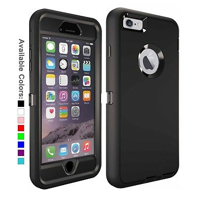 For Apple iPhone 6 - 6s Plus Case with  Belt Clip Fits Otterbox DEFENDER SERIES