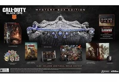 Call of Duty Black Ops 4 Mystery Edition PS4