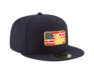 Los Angeles Dodgers New Era 2018 Batterman 4th of July 59FIFTY Fitted Hat- Navy