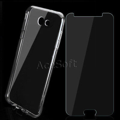 For Samsung Galaxy J7 2017 SM-J727U Anti-Shatter Screen Protector - Case Cover