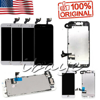 For iPhone 6 6s 7 7 Plus 8 Screen Replacement Lcd Digitizer Complete Home Button