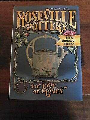 Roseville Pottery for Love or Money book by Virginia Buxton-1996-Free Ship