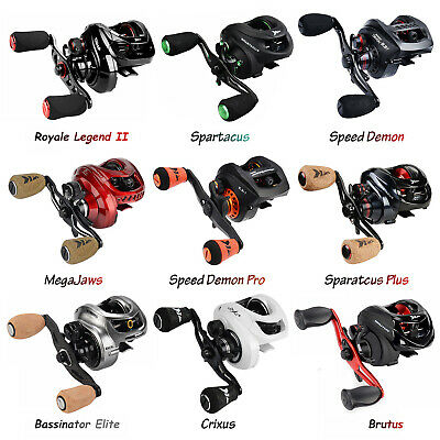 KastKing Baitcasting Reels SaltFreshwater Fishing Reel - All Model Baitcaster