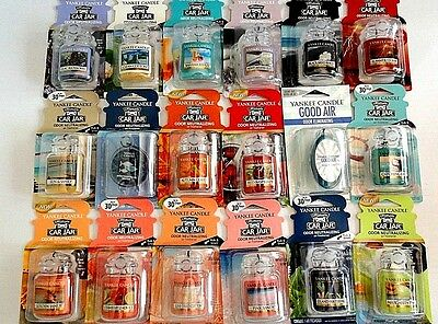 NEW Yankee Candle Ultimate Car Jar Air Freshener  NEW SCENTS  To Choose From