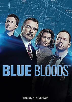 BLUE BLOODS The Eighth Season 8 DVD 2018 6-Disc Set NEW Complete
