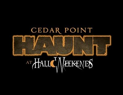 CEDAR POINT HAUNT HALLOWEEKENDS TICKET 43 PROMO SAVE DISCOUNT TOOL  FAST DEL