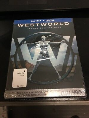 Westworld The Complete First Season Blu-ray Disc 2017 Brand NEW sealed