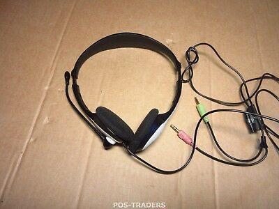 Fujitsu HS E2000 Communicator Headset Call centre/office Binaural