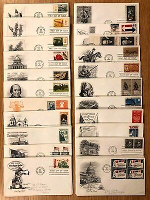 1960s FIRST DAY COVERS - U-S- FDCs LARGE COLLECTION  1 COVER