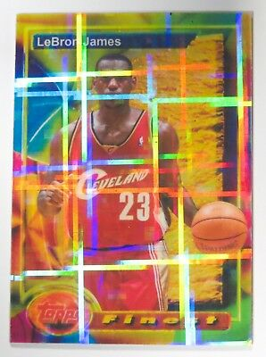 LeBron James ACEO Custom Made 1993-94 Finest Atomic Refractor Rookie 11