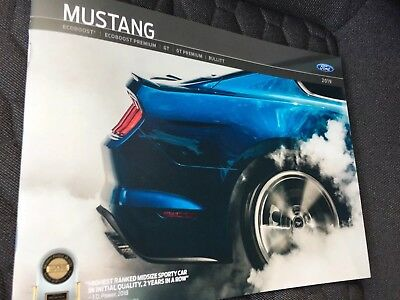 2019 FORD MUSTANG 40-page Original Sales Brochure