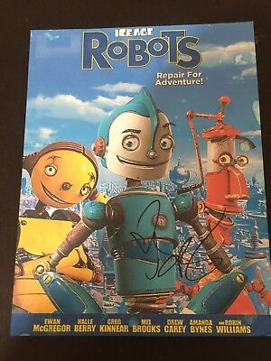 SIGNED AMANDA BYNES ROBOTS COLOR PROMO Thick paper PICTURE LIFETIME COA SALE