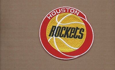 NEW 4 INCH HOUSTON ROCKETS IRON ON PATCH FREE SHIPPING
